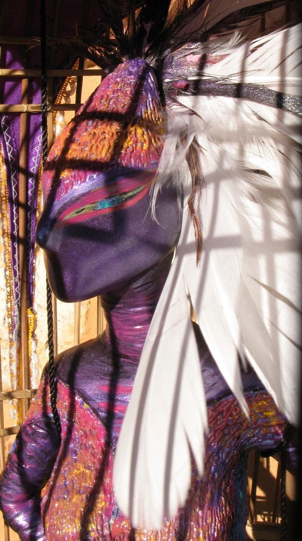 femme-oiseau-lavande